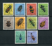 Portuguese Guinea Guine 1953 INSECTS, ANIMALS, INSECTES, ANIMAUX Complete Set MH, FVF - Portuguese Guinea