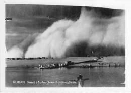 ** Carte Photo / Real Photo ** SOUDAN Sudan ( Evenement Event ) Sand Storm ( Tempête De Sable ) Over GORDON'S TREE - Sudan