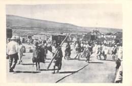 ETHIOPIE Ethiopia - HARRAR Grande Place / Grand Place / Grote Markt /  - CPA - Äthiopien Etiopia MILITARIA - Ethiopie