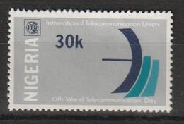 NIGERIA - N°350 ** (1978) Télécommunications - Nigeria (1961-...)