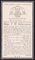 Mgr. F H. Schraven, Lottum Cheng Ting Fu, 1873-1937 Bisschop - Religion & Esotérisme