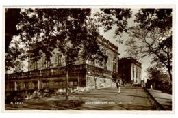 Ref 1367 - Real Photo Postcard - Nottingham Castle - Nottingham