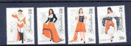 EUROPA GIBRALTAR N° 835/838 ** - COSTUMES - Cote 7 € - Costumes