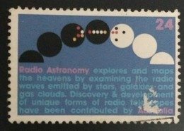 128. AUSTRALIA  USED STAMP RADIO ASTRONOMY - Usati