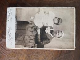 CDV STEIGER FEMME FILLETTE VICHY 03 - Ancianas (antes De 1900)