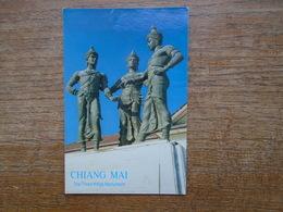 Thailand , Chiang Mai , The Three Kings Monument - Thailand