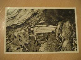 KRISTINEBERGS Kvartsitformation Gruvan Patraffad 1946 NORSJO 1960 To Laholm Post Card SWEDEN - Zweden