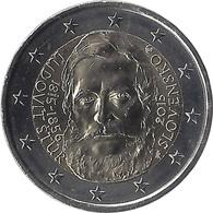 2E188 - SLOVAQUIE - 2 Euros Commémorative - Ludovit Stur 2015 - Slovaquie