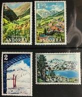 Andorra Spanish 1972 Tourism MNH - Andorra Spagnola