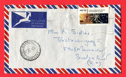 Süd Africa  To Switzerland  /  Irrläufer Nach  Swasiland !! - Afrique Du Sud (1961-...)