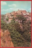 Publicité Médicament ; Pharmacie ; Médecine ; Curieux Village De Roussillon ( Provence)  Labo  Seroglobine Avignon - Advertising