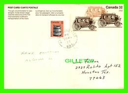 TIMBRES REPRÉSENTATION - LA DILIGENCE, CANADA 32 CENTS - CIRCULÉE EN 1983 - - Postzegels (afbeeldingen)
