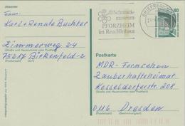Ganzsache Zeche Zollern II. Dortmund - Schmuckmuseum Pforzheim Reuchlinhaus - Briefregion - 1997 - Museums