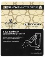 Sandman Hotels & Resorts, Canada, Used Contactless Hotel Room Key Card # Sandman-1 - Cartes D'hotel