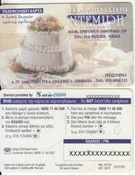 GREECE - Demiri Patisserie, Starcom Promotion Prepaid Card, Tirage 1000, Exp.date 31/07/02, Sample - Griekenland