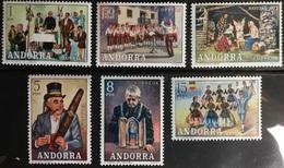 Andorra Spanish 1972 Customs MNH - Andorra Spagnola