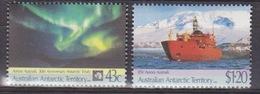 AAT, TP N° 88, 89 (30° Anniversaire Du Traité Sur L'Antarctique, Aurore Boréale, Aurora Australis), Neufs ** - Neufs