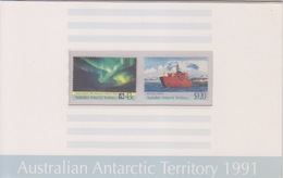 AAT, TP N° 88, 89 Sous Blister(30° Anniversaire Du Traité Sur L'Antarctique, Aurore Boréale, Aurora Australis), Neufs ** - Neufs