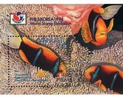 Ref. 52747 * MNH * - VANUATU. 1994. FISH . PEZ - Vanuatu (1980-...)