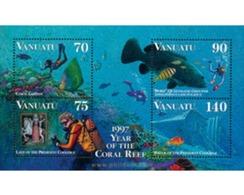Ref. 45840 * MNH * - VANUATU. 1997. YEAR OF CORAL REEFS . AÑO DE LOS ARRECIFES DEL CORAL - Vanuatu (1980-...)