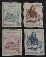 """VATICAN YT 558/561 NEUFS**MNH"""" COPERNIC""""  ANNÉE 1973 - Vatican"""