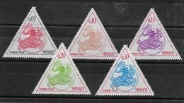 Taxe Sceau Princier N° 63 à 67 De 1980 ** TTBE - Bdf - Cote Y&T 2020 De 1,05 € - Postage Due