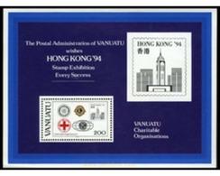 Ref. 176819 * MNH * - VANUATU. 1994. HONG KONG 94. INTERNATIONAL PHILATELIC EXHIBITION . HONG KONG 94. EXPOSICION FILATE - Vanuatu (1980-...)