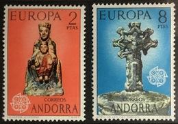 Andorra Spanish 1974 Europa MNH - Andorra Spagnola