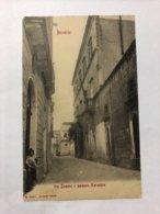 ITALY - PUGLIA - BRINDISI - VIA DUOMO E PALAZZO NERUEGNA - 1907 - Brindisi