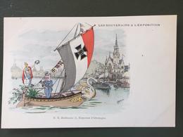 Les Souverains à L'Exposition. S.M. Guillaume II, Empereur D'ALLEMAGNE - Familles Royales