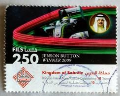 128. BAHRAIN 2009 USED STAMP JENSON  BUTTON WINNER - Bahrain (1965-...)