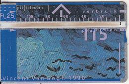 NETHERLANDS - Painting/Vincent Van Gogh, CN : 003C, 04/90, Used - Nederland