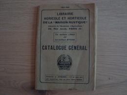 CATALOGUE GENERAL LIBRAIRIE AGRICOLE ET HORTICOLE DE LA MAISON RUSTIQUE 1935 1936 - Books, Magazines, Comics