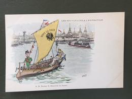 Les Souverains à L'Exposition. S.M.    Nicolas II,Empereur De Russie - Familles Royales