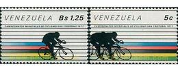 Ref. 53180 * MNH * - VENEZUELA. 1978. WORLD CYCLING CHAMPIONSHIPS IN SAN CRISTOBAL . CAMPEONATOS MUNDIALES DE CICLISMO - Venezuela