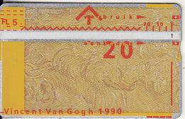 NETHERLANDS - Painting/Vincent Van Gogh, CN : 006E, 04/90, Used - Nederland