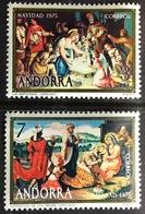 Andorra Spanish 1975 Christmas MNH - Andorra Spagnola