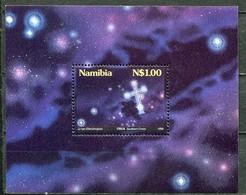 Namibia Mi# Block 25I Postfrisch/MNH - Space Stars - Namibie (1990- ...)