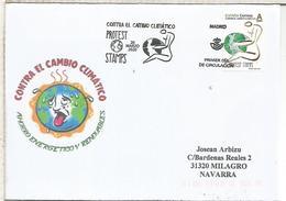 CC FDC CON MAT PRIMER DIA MADRID CAMBIO CLIMATICO ECOLOGIA MEDIO AMBIENTE - Protezione Dell'Ambiente & Clima