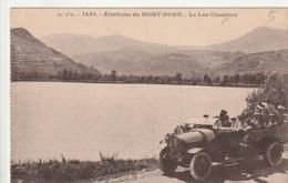 *** 63 ***  LE PUY DE DOME  Lac Chambon Environs Mont Dore   Automobile  -écrite  Excellent état - Le Mont Dore
