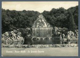 °°° Cartolina - Caserta Parco Reale La Grande Cascata Viaggiata °°° - Caserta