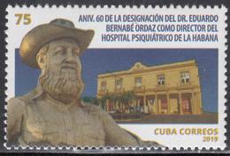 Cuba 2019  MNH Dr. Eduardo Bernabe - Cuba