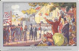 Carte Postale Officielle Du Centenaire De La Réunion De Genève à La Suisse 1814-1914 : N° 5 Genève Le 1er Juin 1814 - Andere