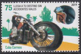 Cuba 2019  MNH Motorcycle - Cuba