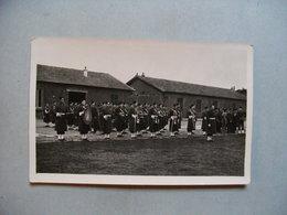 PHOTOGRAPHIE Musique Militaire Du 21° Bataillon ?  - Sur Le Tissus De La Grosse Caisse Est Noté 5° GENIE  -   PHOTO 1949 - Regiments