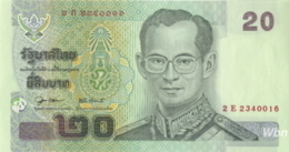Thailand 20 Baht (P109) Sign 79 -UNC- - Thailand