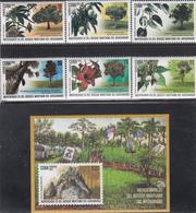 Cuba 2019  MNH Bosque  Forestry Set Of 6v + Souvenir Sheet - Cuba