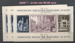 1952. Bloc 30 **  Sans Charnière   Cote 185,-euros. Inauguration De La Basilique De Koekelberg, Joyau Art-déco - Blocks & Sheetlets 1924-1960