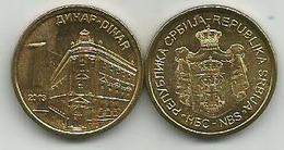 Serbia 1 Dinar 2013. KM#54 High Grade - Serbie