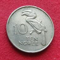 Zambia 10 Ngwee 1978 KM# 12 *V1 Zambie - Zambia